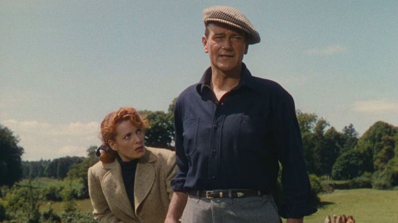 The Quiet Man, and his redhead